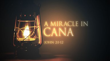A Miracle in Cana