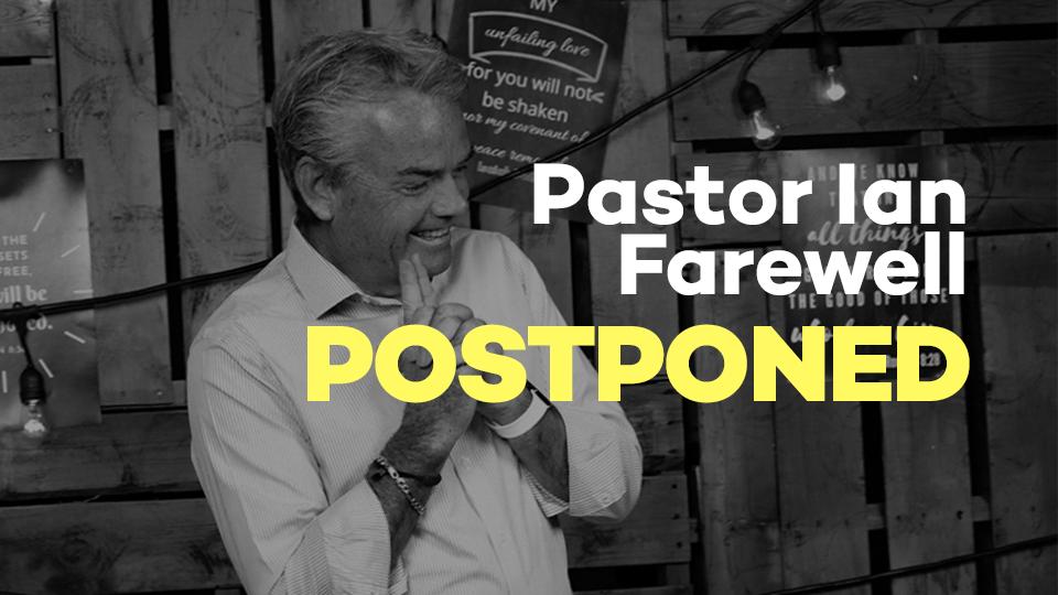Pastor Ian Farewell